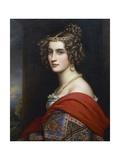 Portrait of Amalia Von Schintling  1831