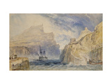 Boscastle  Cornwall  C1824 (Watercolour over Graphite with Pen and Black Ink)