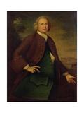 Portrait of Mr Daniel Rea  C1757