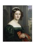 Portrait of Anna Hillmaier  1829