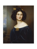 Portrait of Nanette Kaula (1812 - 1876)  1829