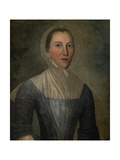 Portrait of Mary Crosswell  1763