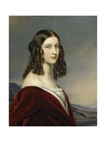 Portrait of Friederike Von Freiin Gumppenberg  1843