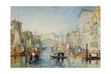 Venice: the Rialto  1820-21