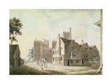 A View of the Archbishop's Palace  Lambeth  1790