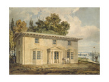 The Penrhyn Arms at Port Penrhyn  C 1797 - 1798 (Watercolour with Pen and Brown Ink)