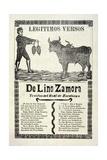 Legítimos Versos De Lino Zamora Traidos Del Real De Zacatecas  Published 1903