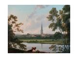 View of Masham and the River Ure at Masham  1816