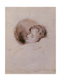 Keats on His Death Bed  1821