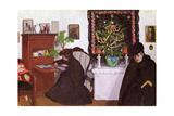 Christmas  1903 (Panel)