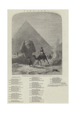 Napoleon in Egypt (Forty Centuries Look Down Upon Him)