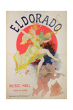 Poster for El Dorado by Jules Cheret (1836-1932)