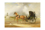 William Massey-Stanley Driving His Cabriolet in Hyde Park  1833