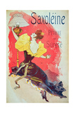 Poster Advertising 'Saxoleine'  Safety Lamp Oil