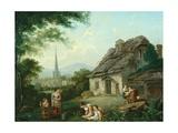 Old Cottage  Masham  1816