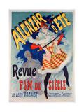 Alacazar D'Ete Poster  1890