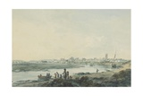 Cardiff from the South  C1789