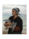 The Wounded Sea Gull  1878