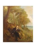 Keats Listening to the Nightingale on Hampstead Heath  1845 (See also 145175)