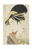 Courtesan Konosumi  1793-1794