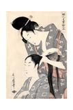 Hairdresser from the Series 'Twelve Types of Women's Handicraft'  C1797-98