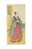 Sawamura Sojuro III as Yazama Jutaro  C 1789