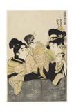 Yugiri and Izaemon  C 1801