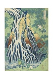 Kirifuri Falls Near Mount Kurokami in Shimotsuke Province  C 1833