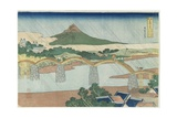 Kintai Bridge in Suo Province  1833-1834