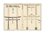 Various Types of Torii Arch  1816