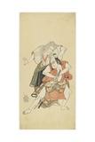 Sawamura Sojuro II and Otani Hiroji III  1768