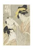 Komurasaki of the Muuraya House  Shirai Gonpachi and Viperous Jihe  1798-1800