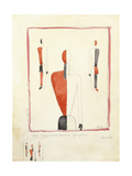 Three Suprematist Figures  C 1921-2