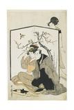 Man and Woman Smoking  C 1804