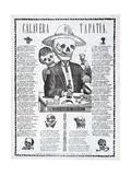 Calavera Tapatia  Published 1910
