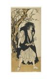 Ichikawa Danjuro V as the Monk Wantetsu  1778