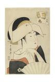 Portrait of Tomimoto Toyohina  1795-1796