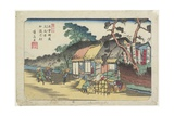 No6: Kamo Shrine Near Ageo Station  1830-1844
