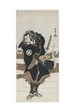 O Tani Hiroeman III as Asahara Jiro  1778