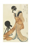 Kanpei's Wife Okaru  January 1806