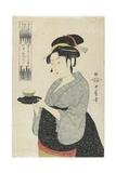 Naniwaya Teahouse Waitress Okita  C 1793