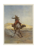 A Despatch-Bearer Egyptian Camel Corps
