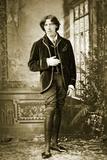 Portrait of Oscar Wilde C 1882