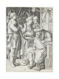 David Playing the Harp before Saul  C 1508