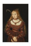 Betrothal Portrait of Sybille of Cleves  1526-7