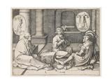 Joseph Interpreting the Dreams in Prison  1512