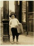 6 Year Old Newsboy