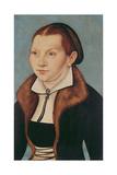 Portrait of Katherine Von Bora (1499-1552) 1529