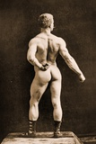 Eugen Sandow  in Classical Ancient Greco-Roman Pose  C1893