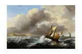 Fishing Vessels Offshore in a Heavy Sea  1864